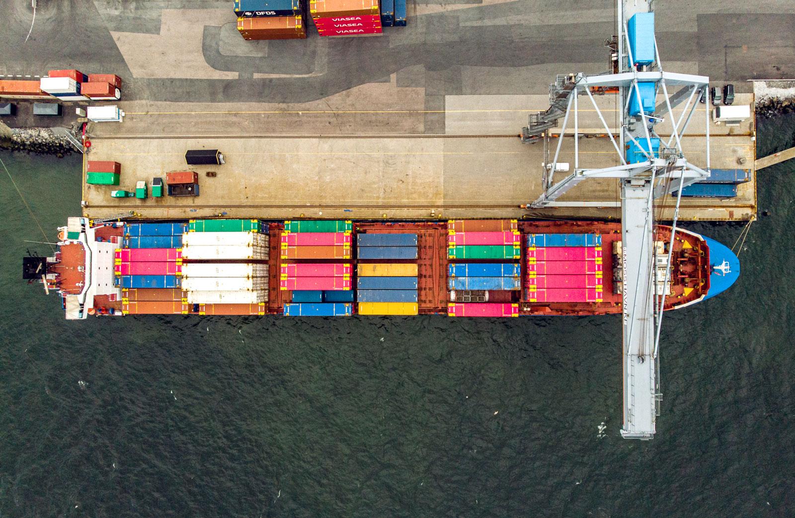 Grønn og bærekraftig energiplanlegging i havner.