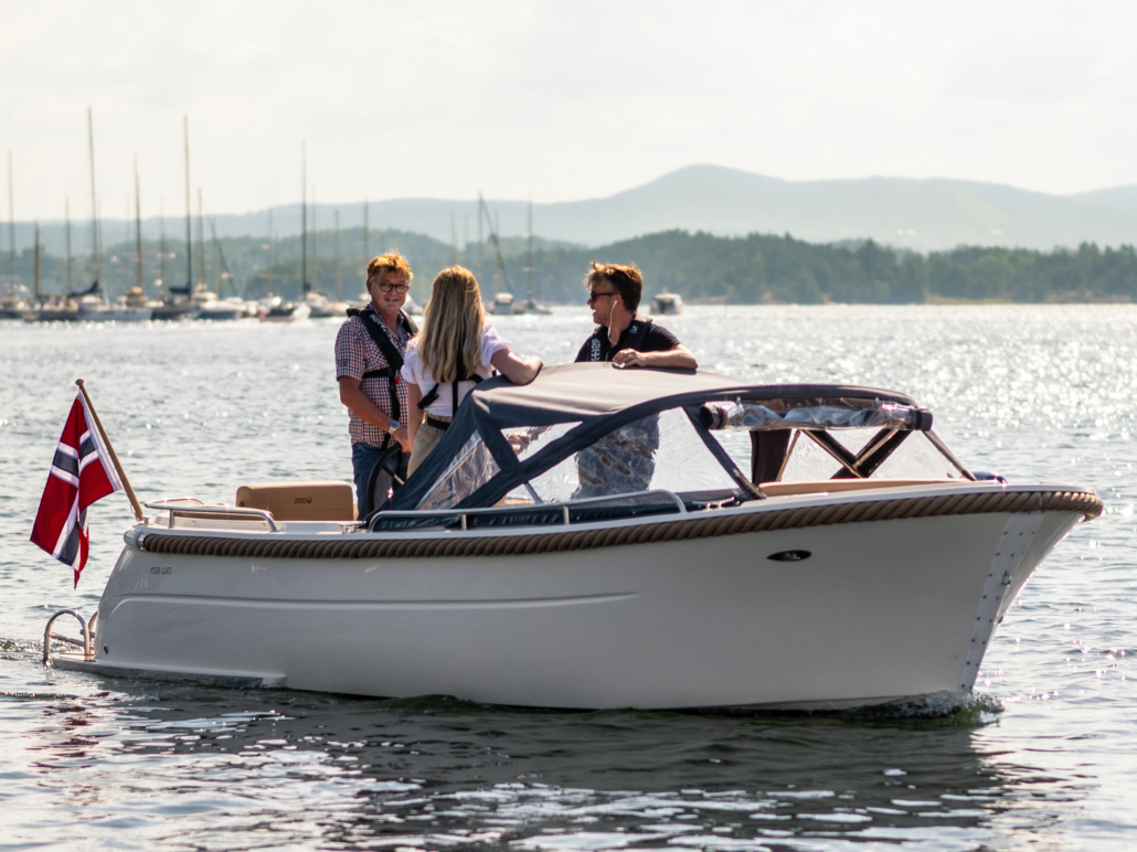 Nå kan du leie elektriske fritidsbåter i Moss
