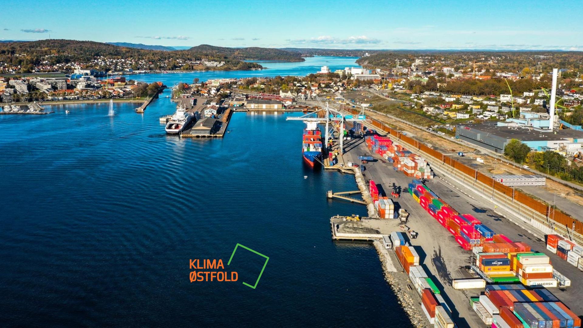 Moss Havn er nominert til Klima Østfold-prisen
