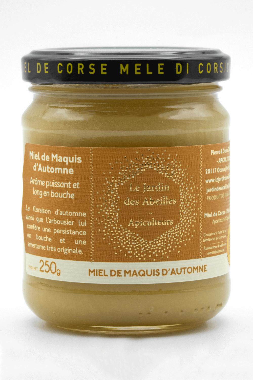 miel de maquis d'automne