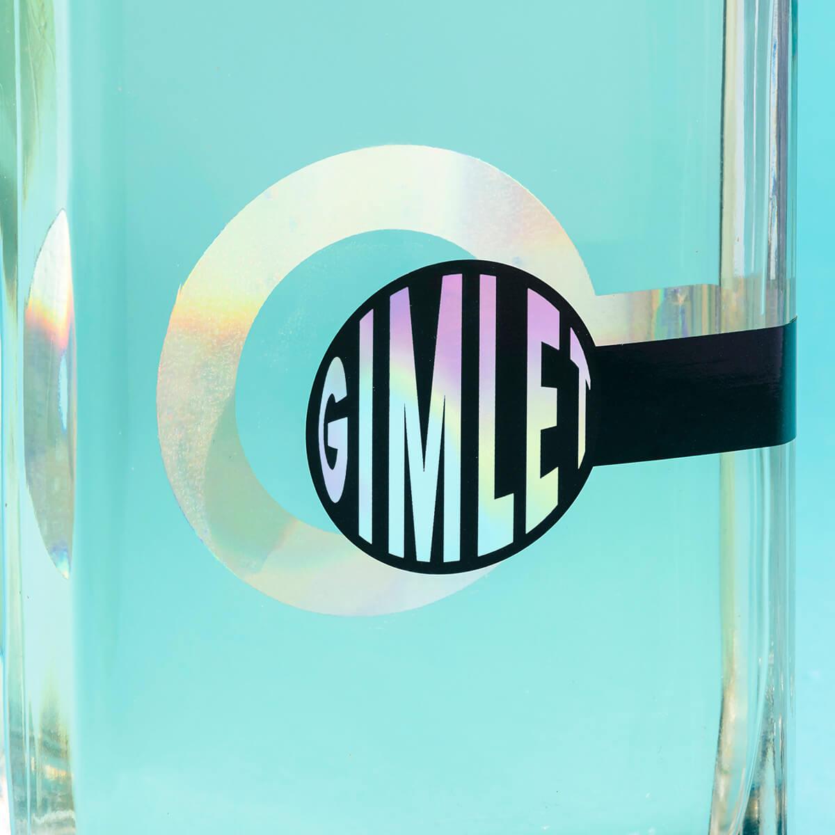 Detail holografické etikety