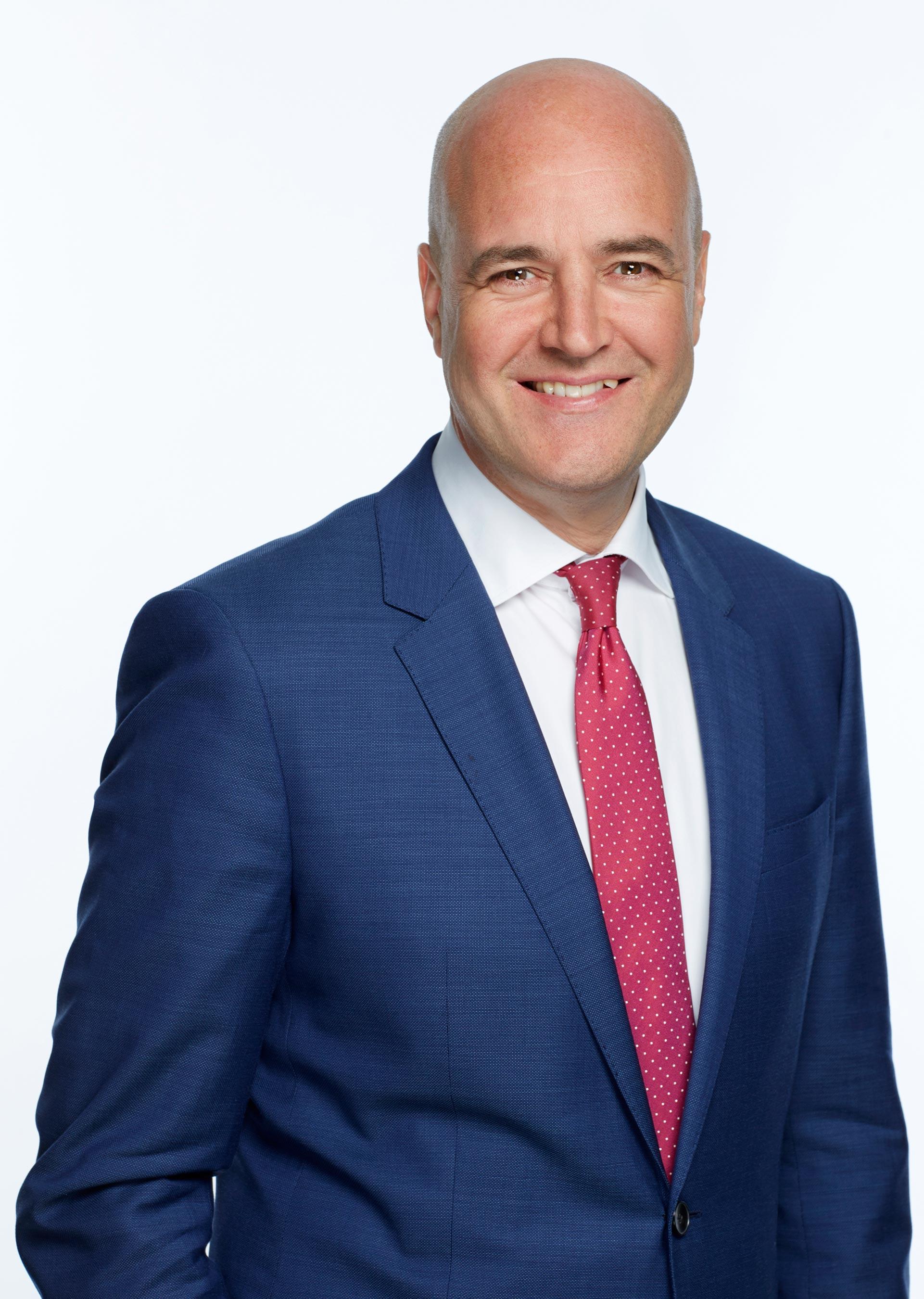 Bild på Fredrik Reinfeldt
