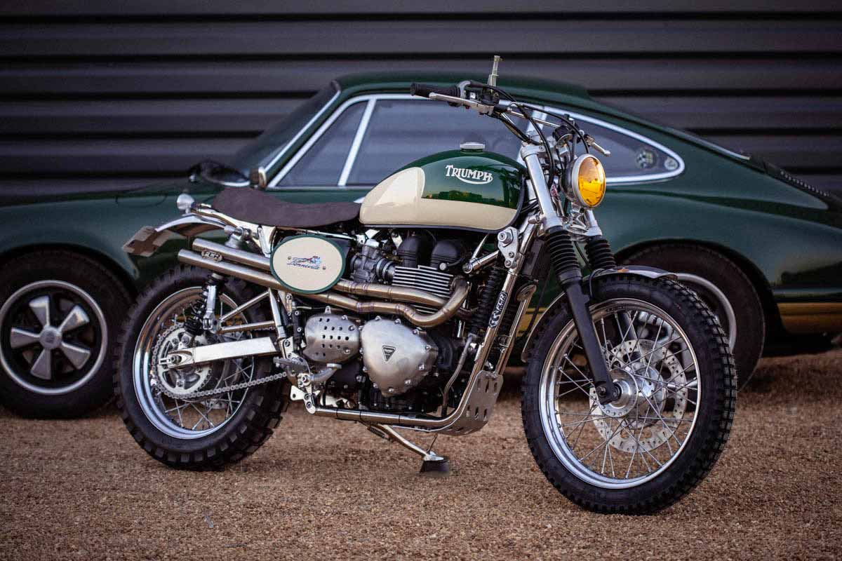 """Bonneville T100 FCR """"Classic Legend"""""""