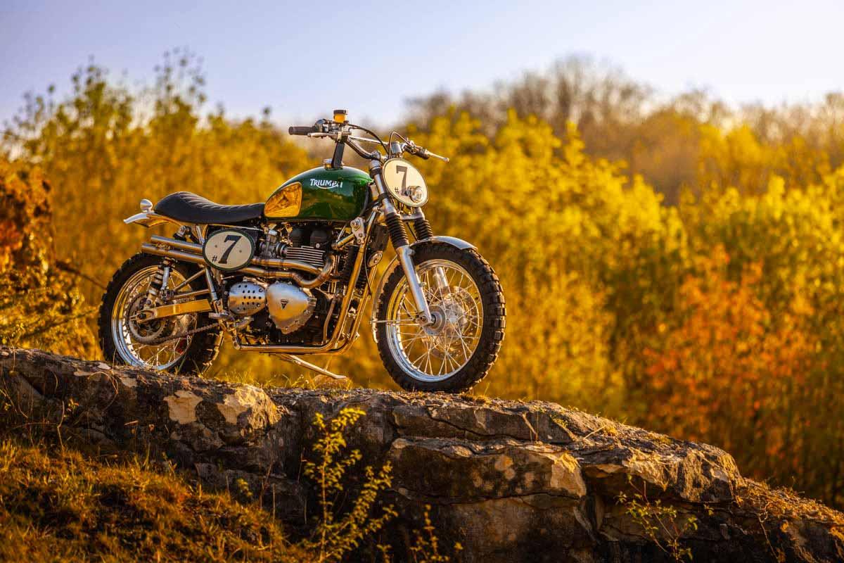 """Triumph Bonneville """"Green Legend"""" by FCR Original"""