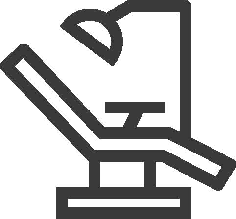 dental chair icon