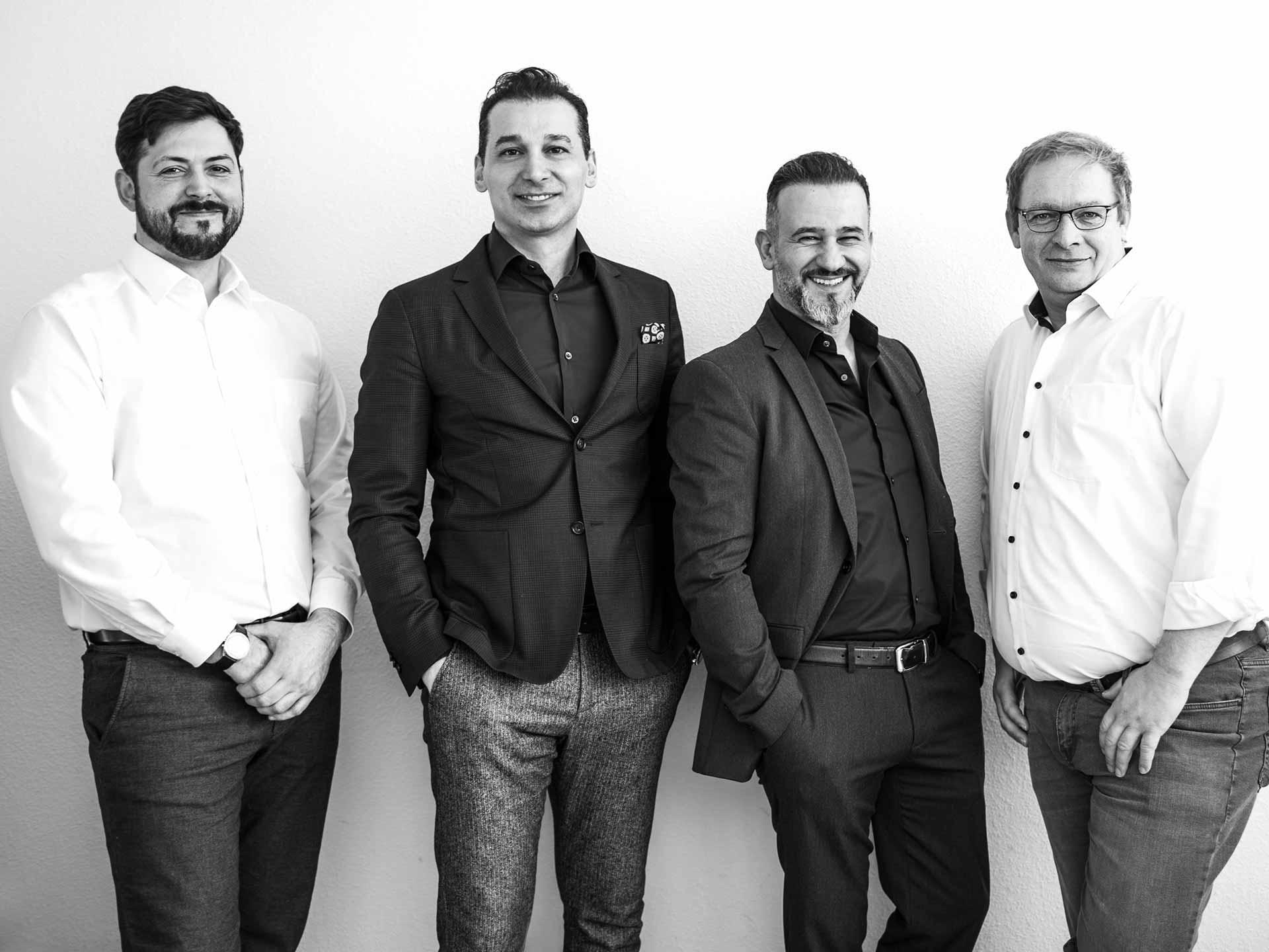 Brockhaus GmbH Immobilienmakler in Weinheim Bild Mitarbeiter Männer