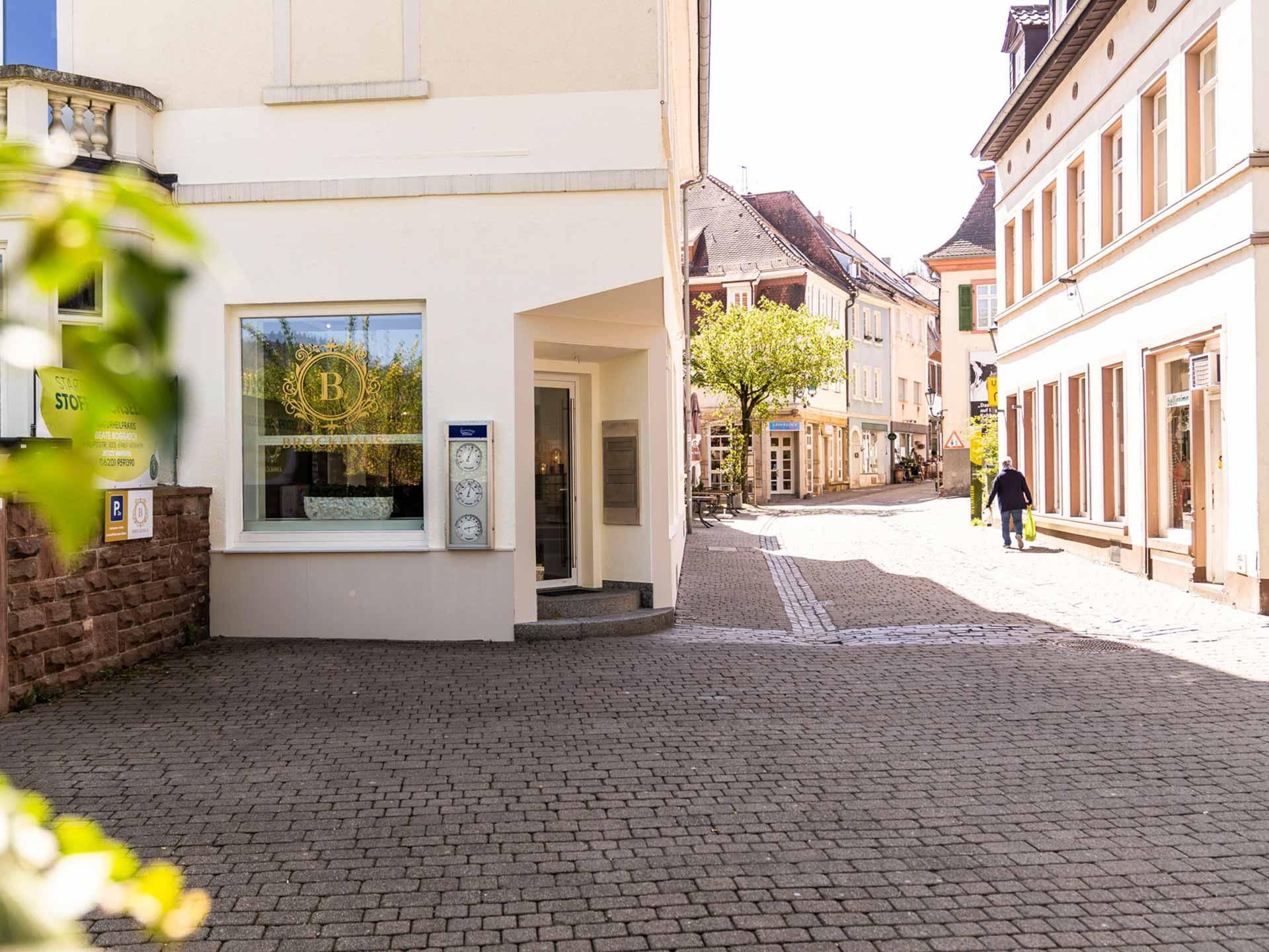 Brockhaus GmbH Immobilienmakler in Weinheim Bild Büro außen