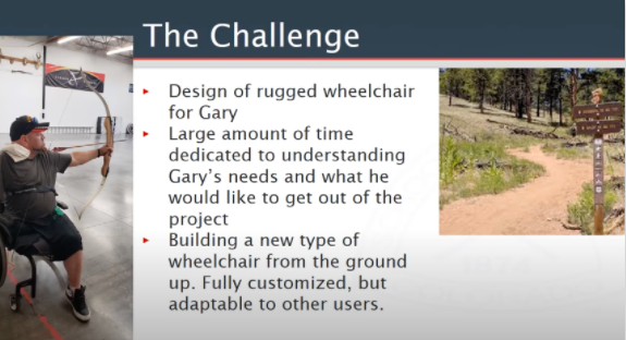 MINES: SYMMETRICAL GRAVITY ACTIVATED WHEELCHAIR BRAKE