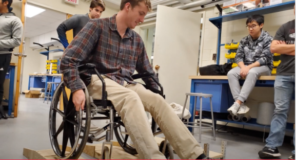 VIRGINIA TECH: WHEELCHAIR TRANSFER DEVICE