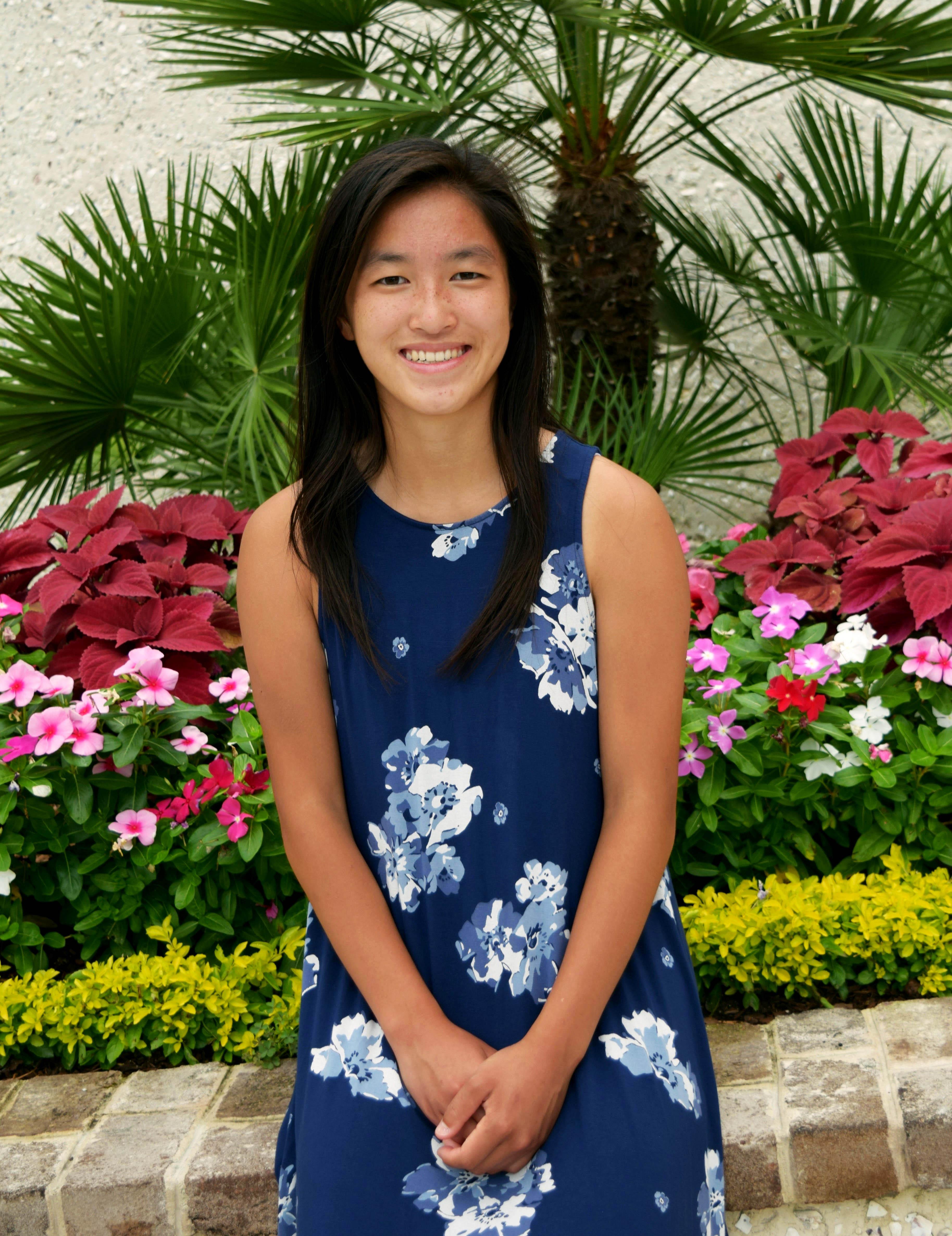 A photos of Morgan Mosco, the Virginia Tech Student Chapter Director of Public Relations
