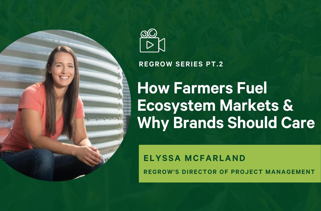 How Farmers Contribute to Ecosystem Markets