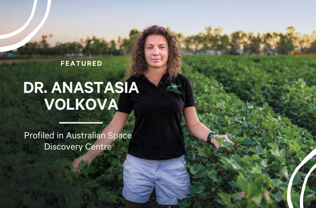 CEO Anastasia Volkova, PhD Featured in Australian Space Discovery Centre