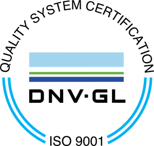 DNV GL quality system certification logo