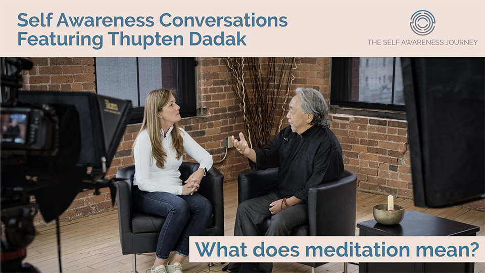 What does meditation mean?