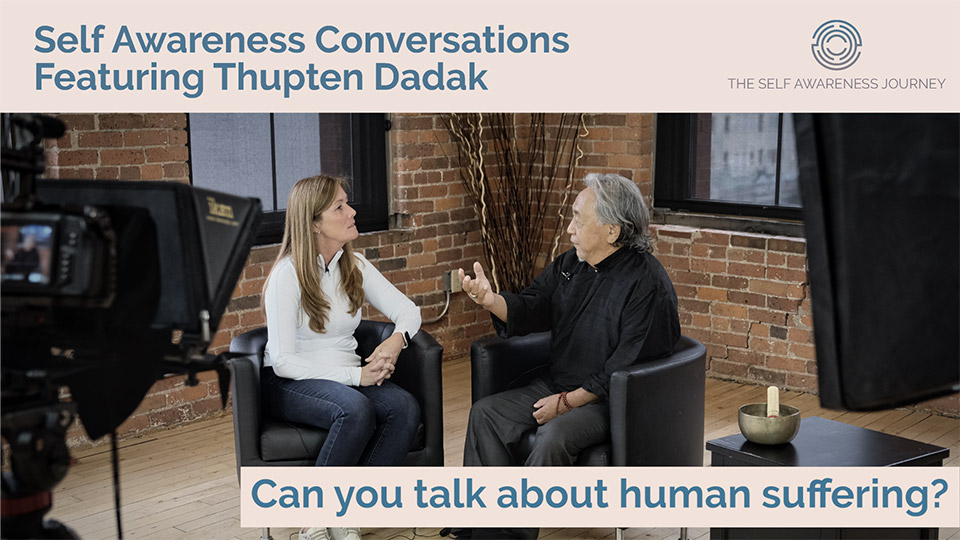 Can you talk about human suffering?