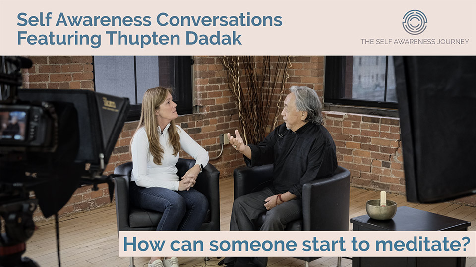 How can someone start to meditate?