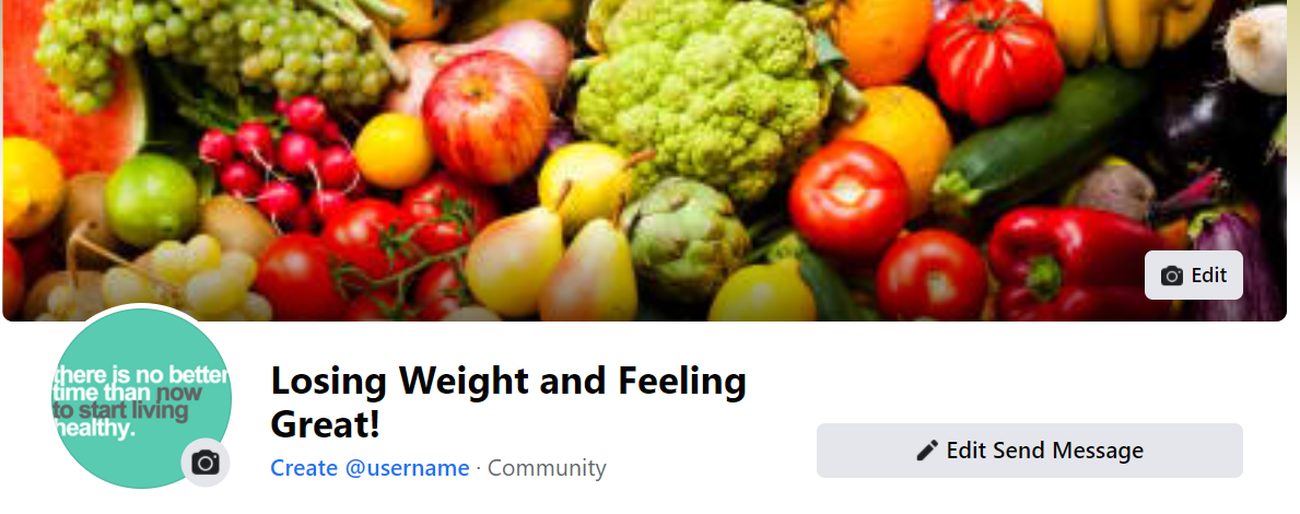 A screenshot of a cover photo for a Facebook business