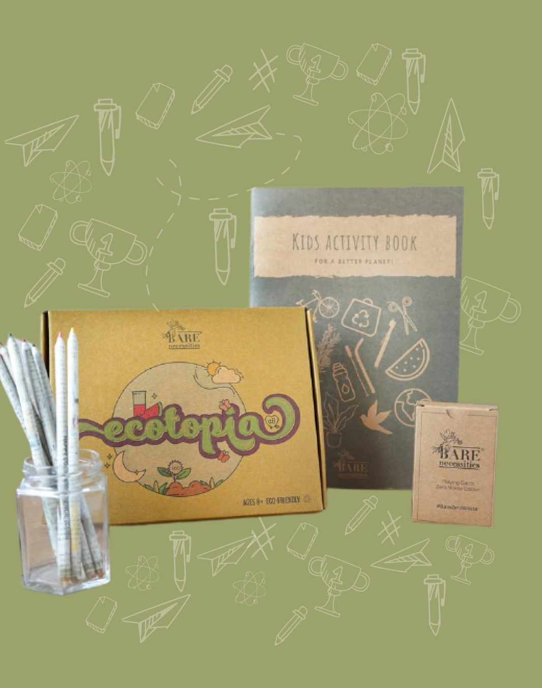 4 in 1 all things sustainability kids box