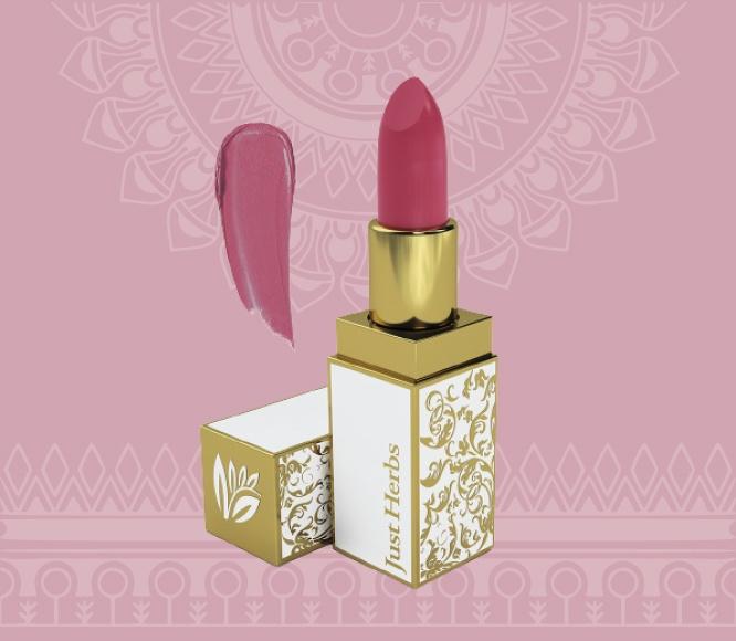 Herb enriched ayurvedic lipstic