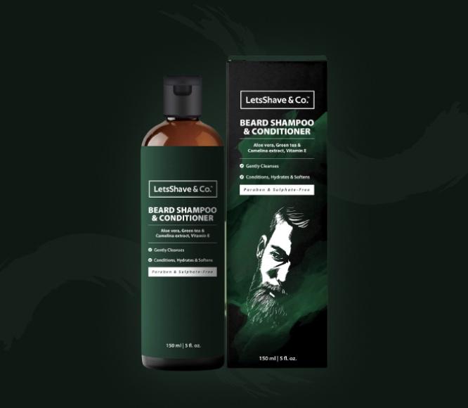 Hair and Beard Shampoo Conditioner
