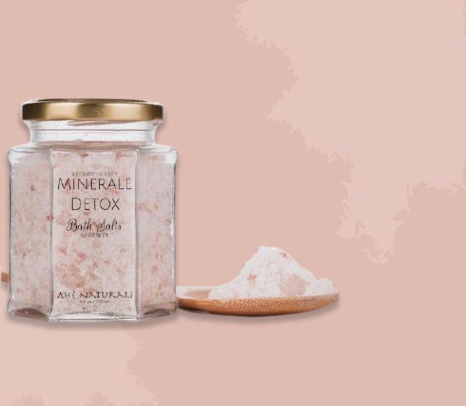 Mineral detox aroma therapy bath salts