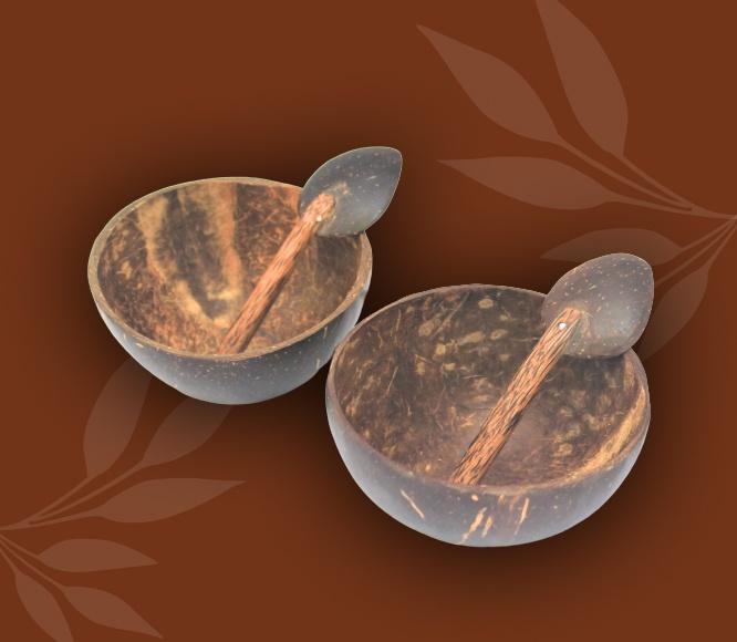 Mini Coconut Bowl + Spoon