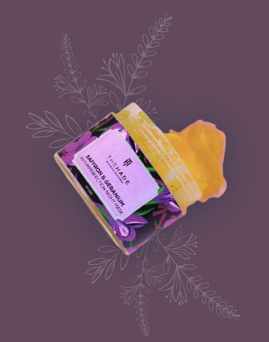 Saffron Night Mask