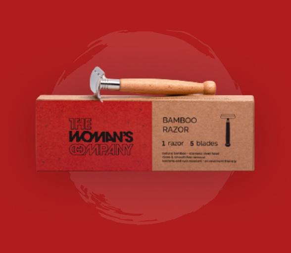 bamboo product: bamboo razor