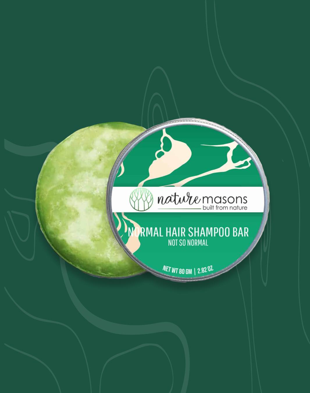 Natural shampoo bar