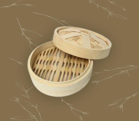 bamboo product: bamboo momo steamer