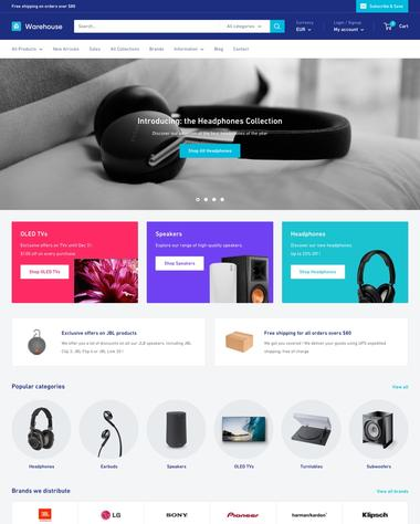Shopify templates example