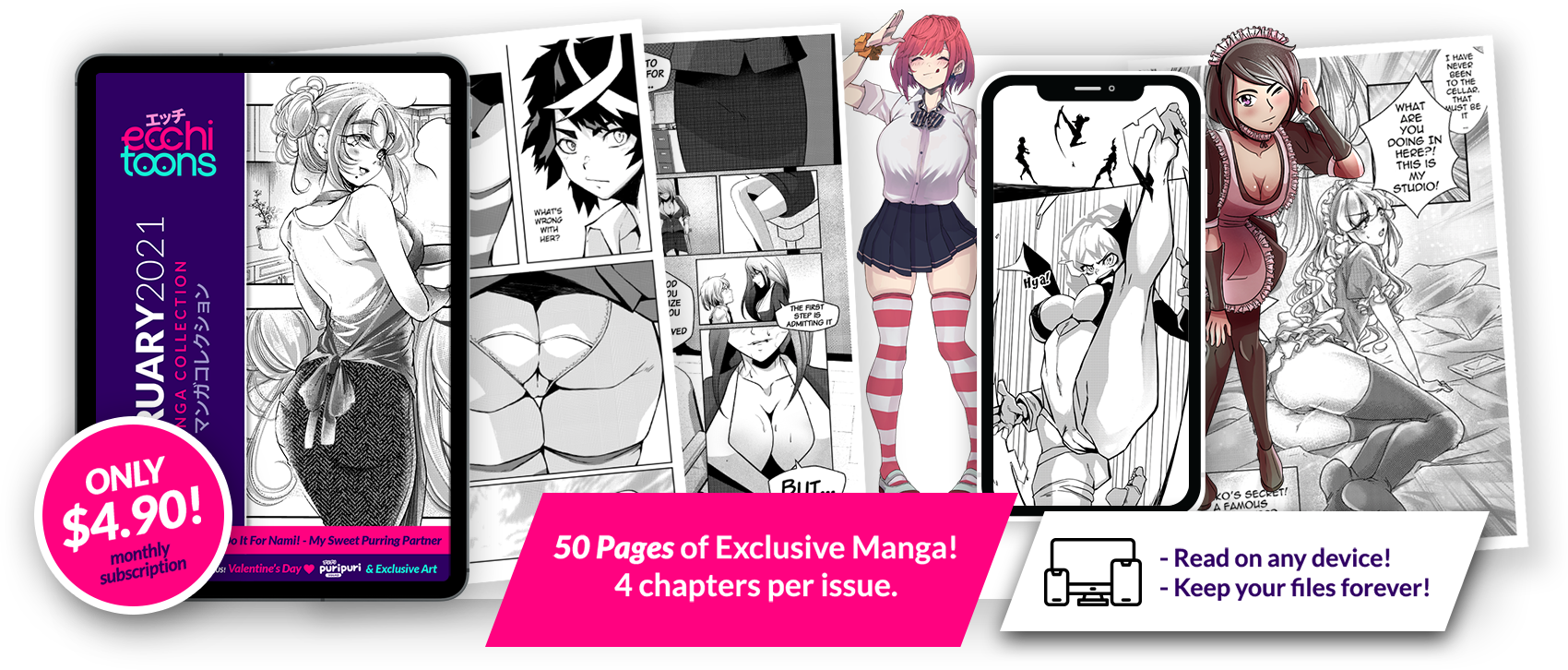 Ecchiart manga read japan