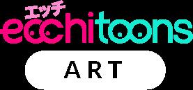 ecchitoons logo art read manga art