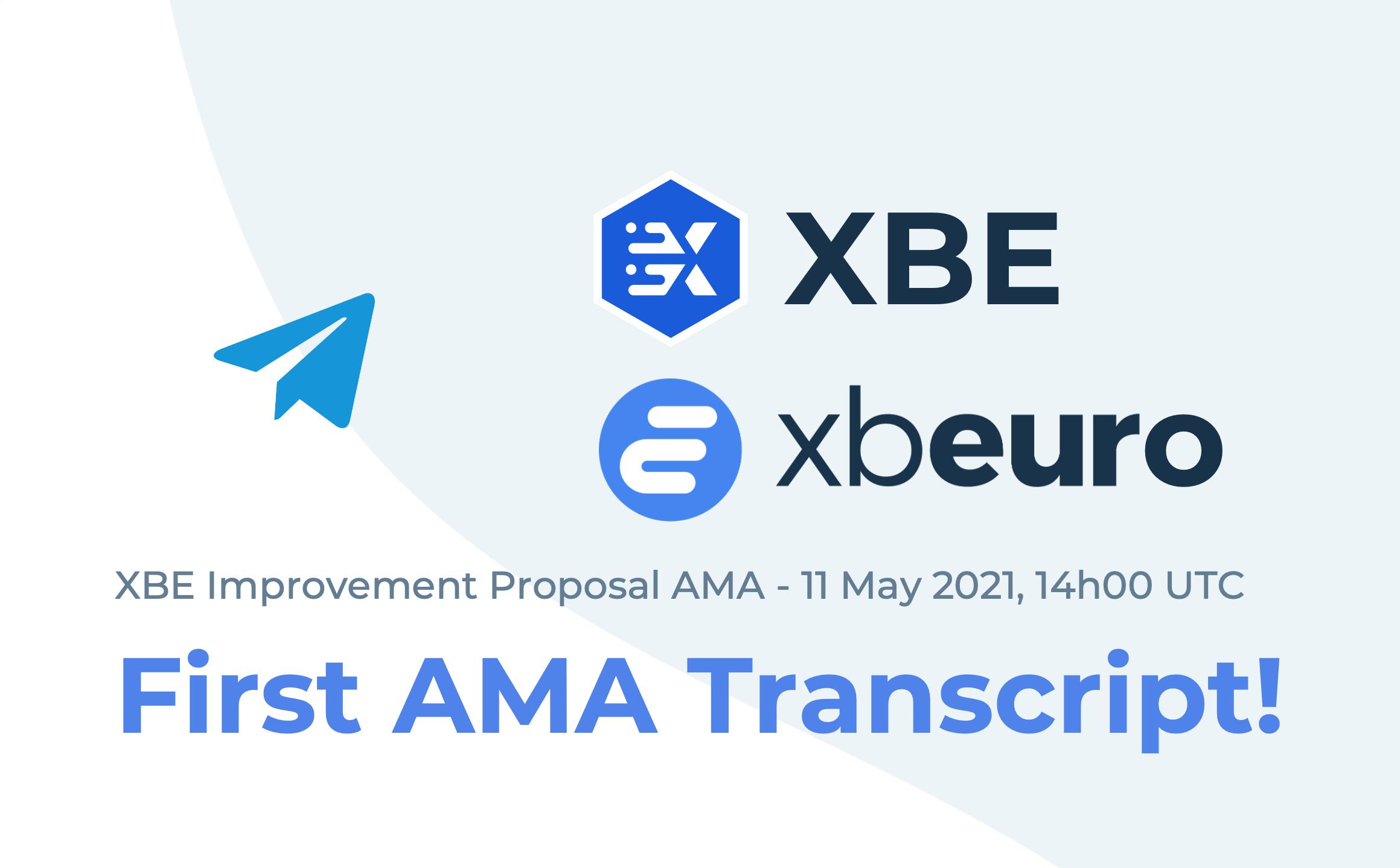 2021-05-11 XBE Proposal AMA Transcript