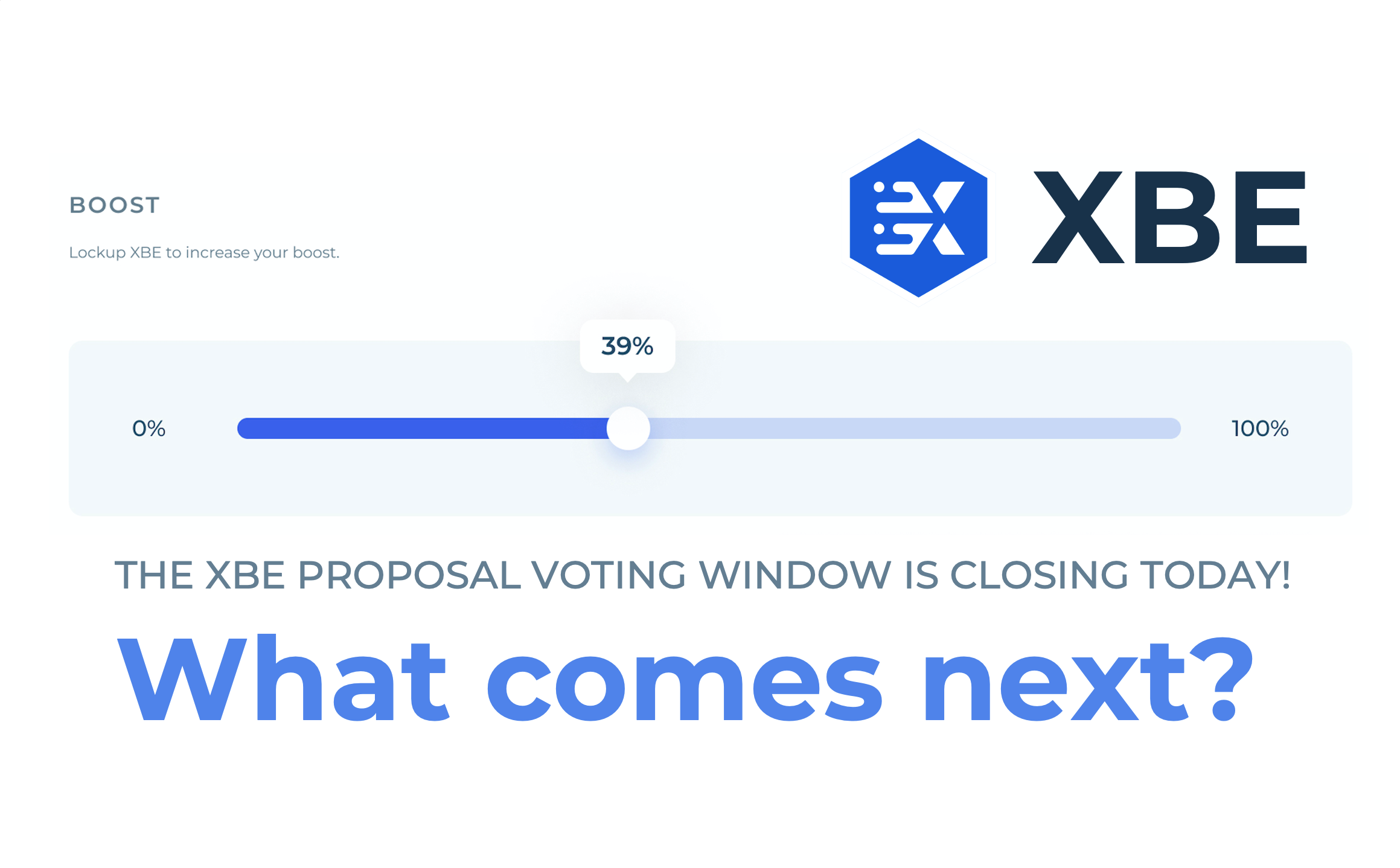 XBE vote almost over! Where to next?