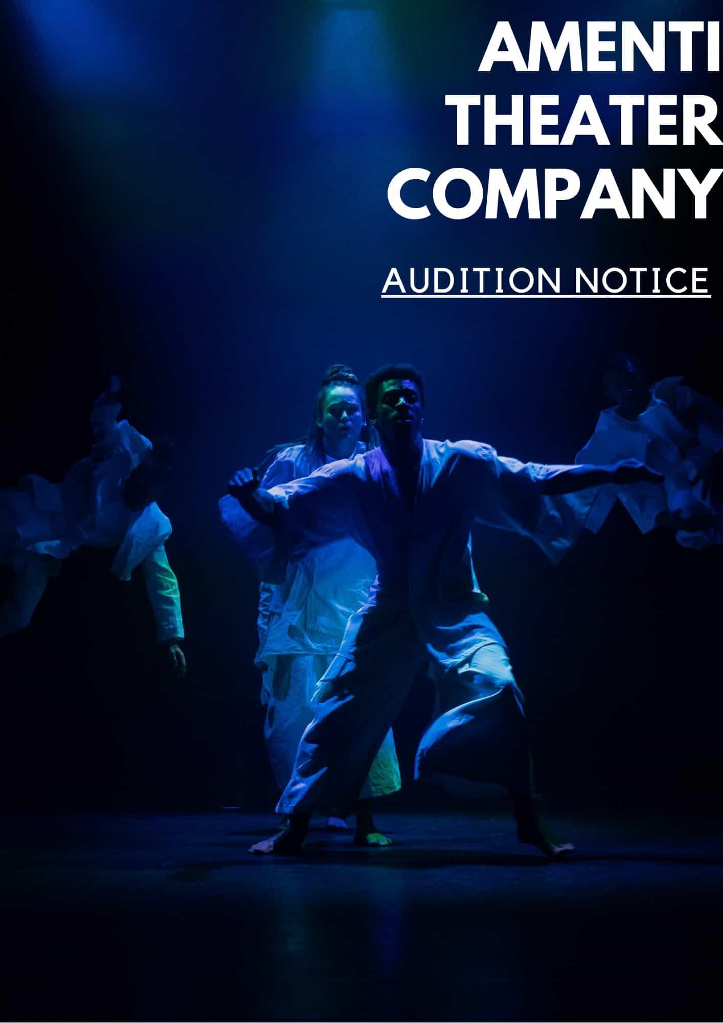 Audition Amenti Theatre Company