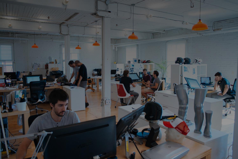 Stellar offices - People working