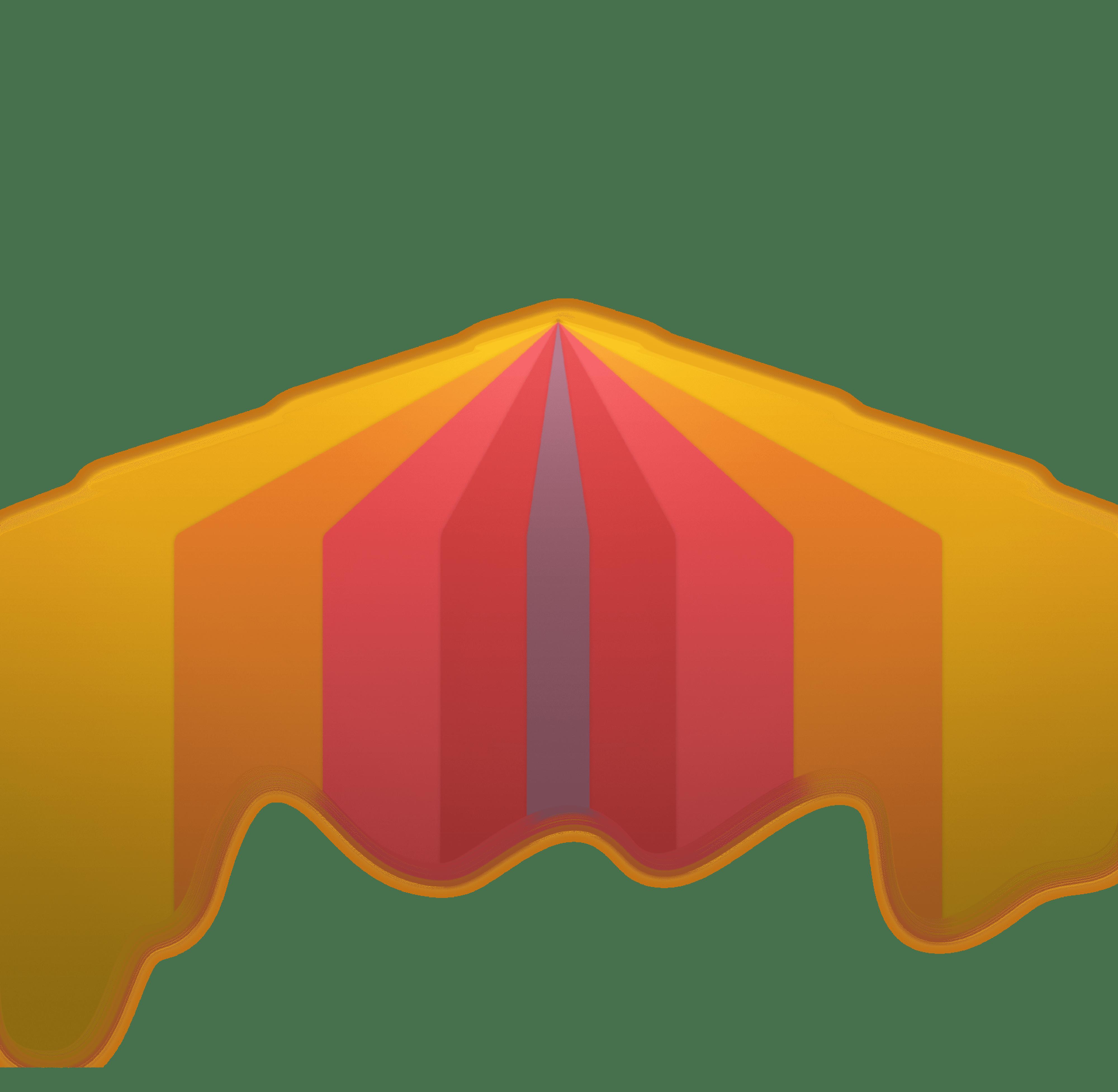 Light Warriors United rainbow light rays emanating from center of logo