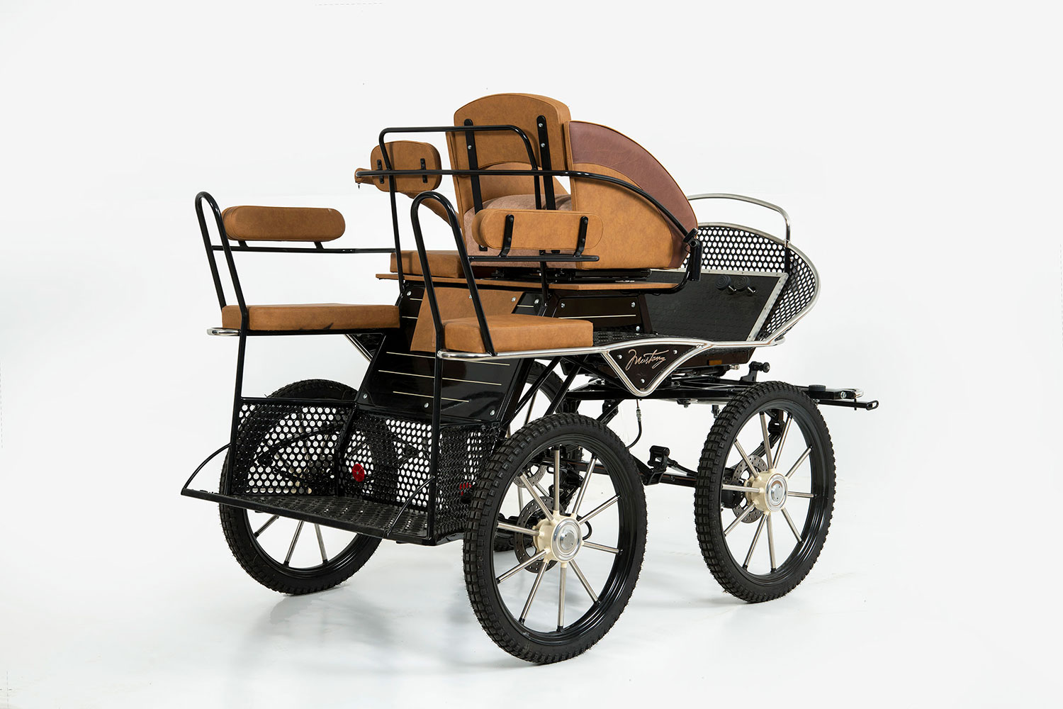 WCC Mustang M-200 Horse Training Carriage