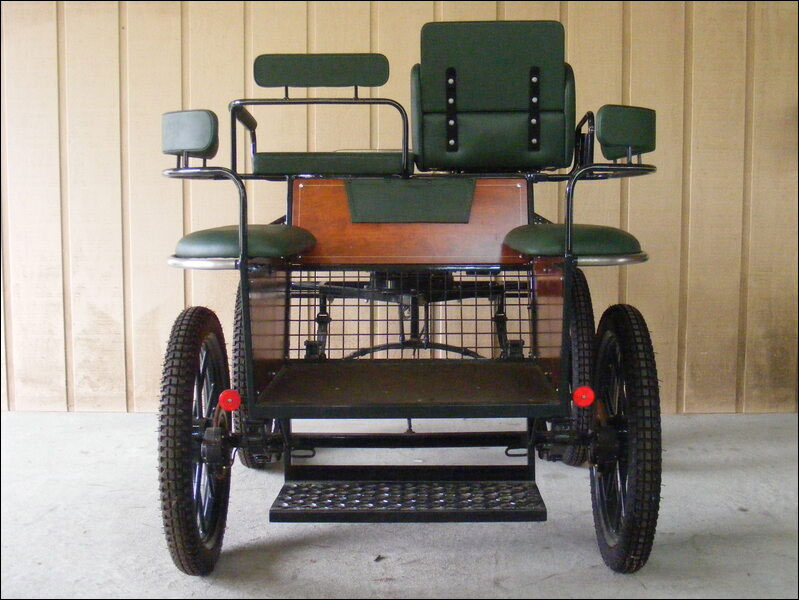 WCC Solux Horse Training Carriage