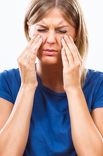 Sinus sufferer
