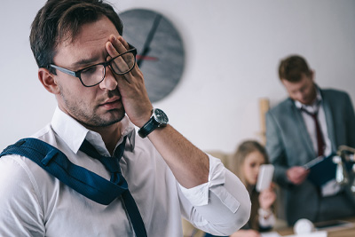 Fatigue throughout the day is a symptom of someone who suffers from sleep apnea