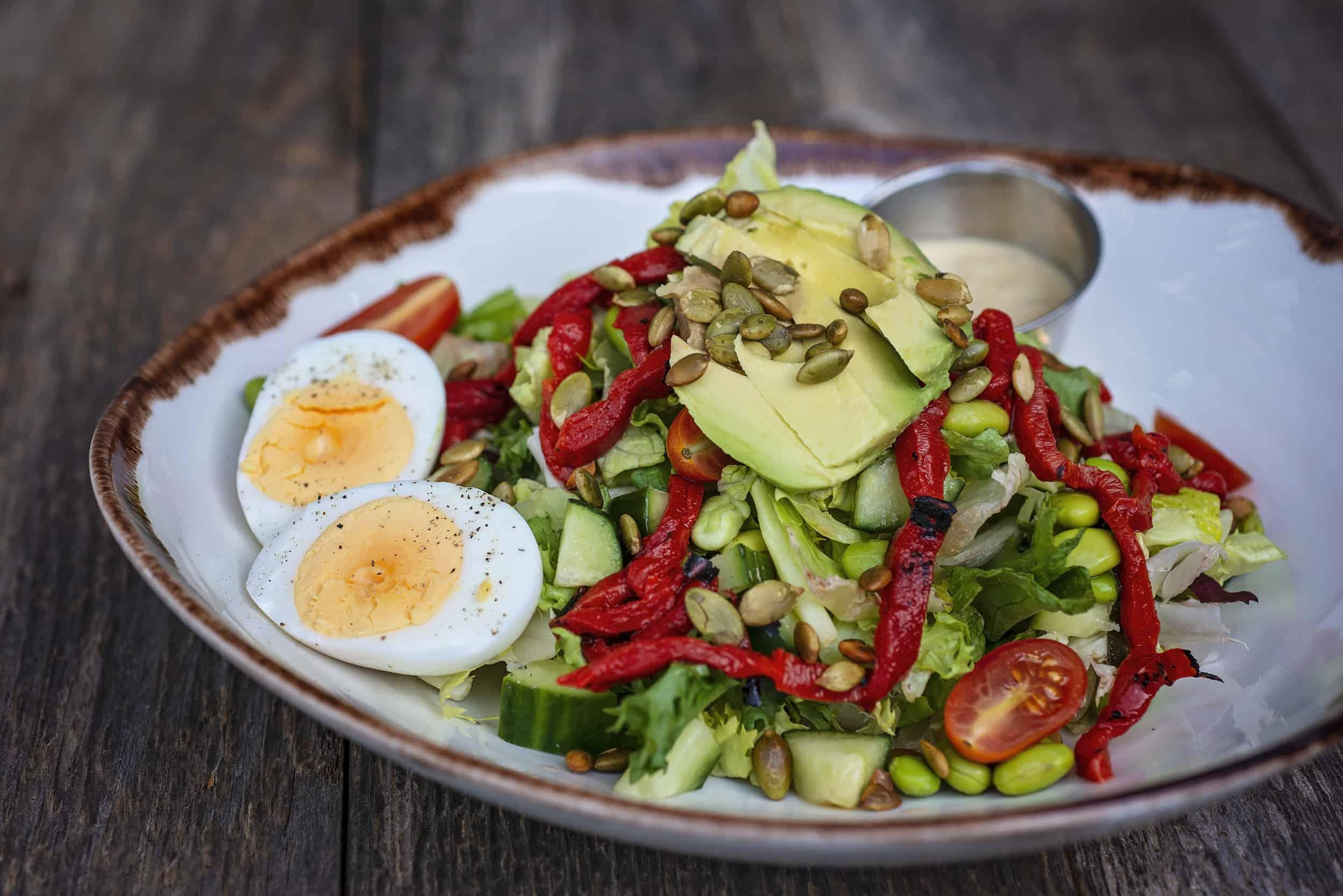 Qualicum Beach Cafe Chef Salad