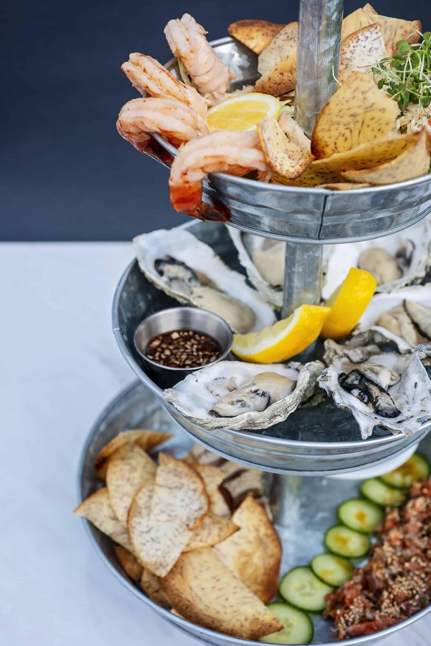 Qualicum Beach Cafe Seafood Tower