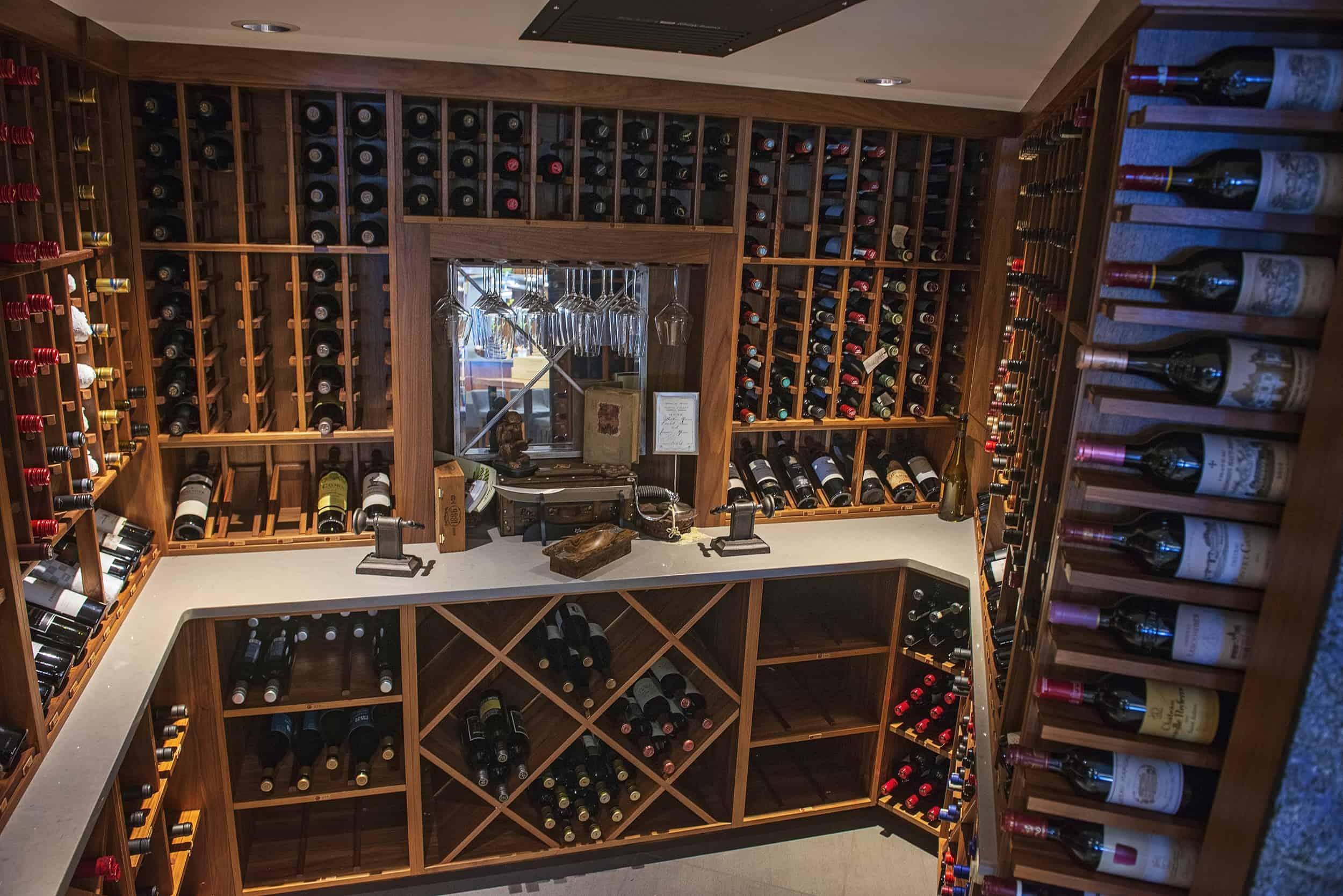 Qualicum Beach Cafe Wine Cellar