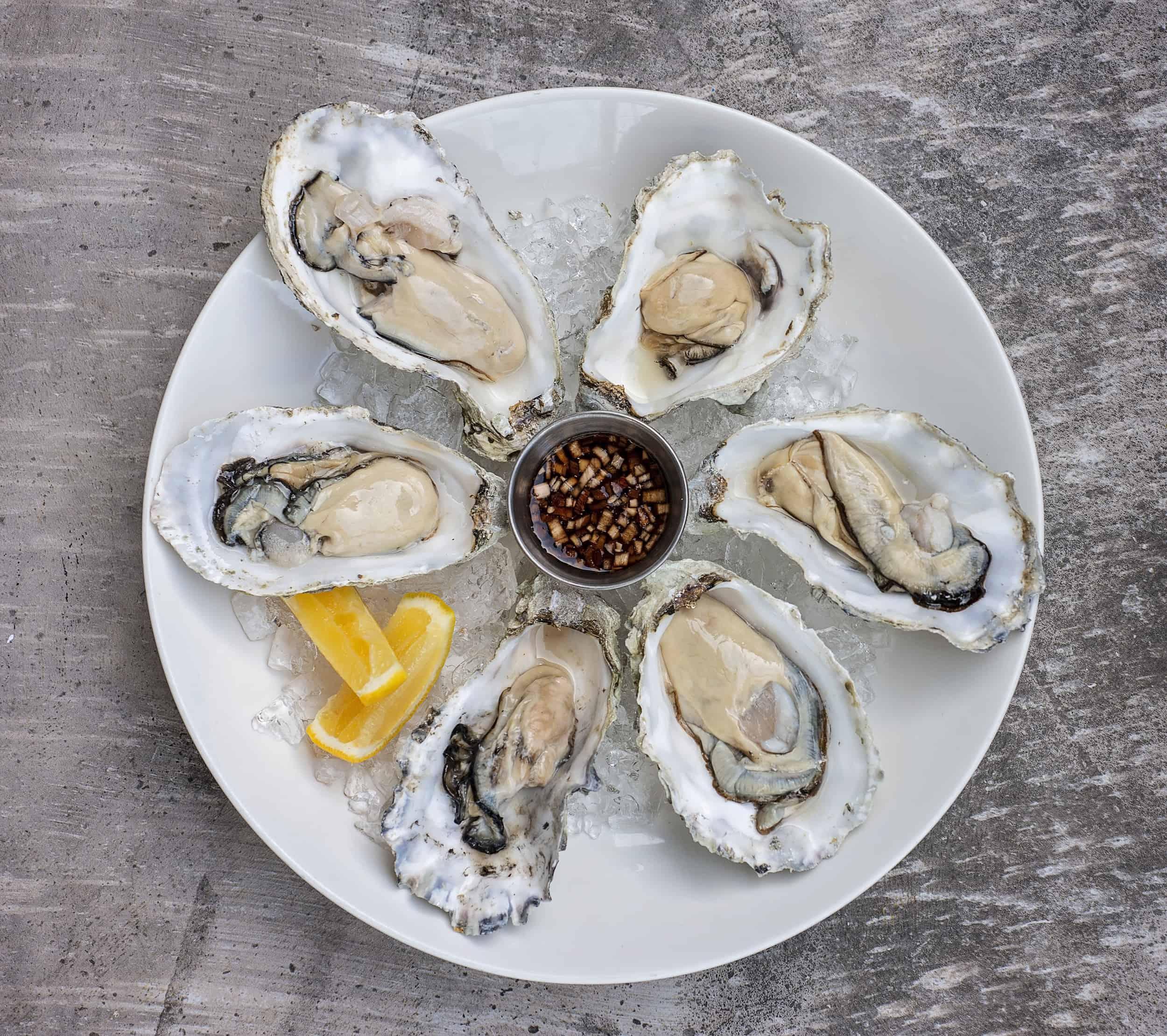 Qualicum Beach Cafe Oysters