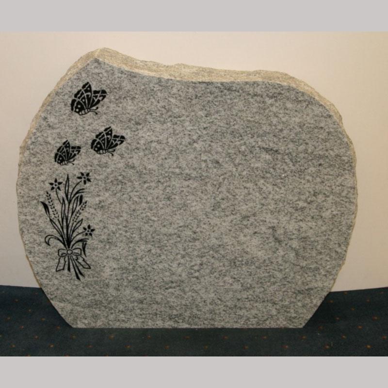 Nr 214 Hvit gneis, polert forside og bakside
