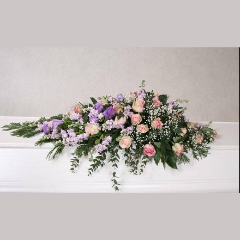 Kistedekorasjon A002 Blomster etter årstiden
