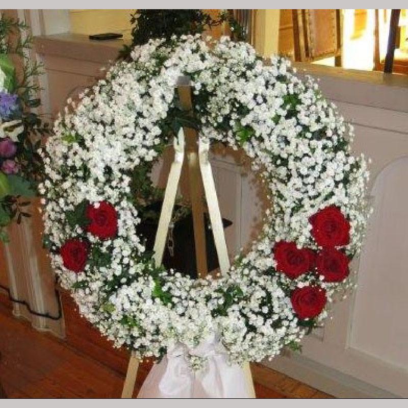 K012. Brudeslør og noen roser
