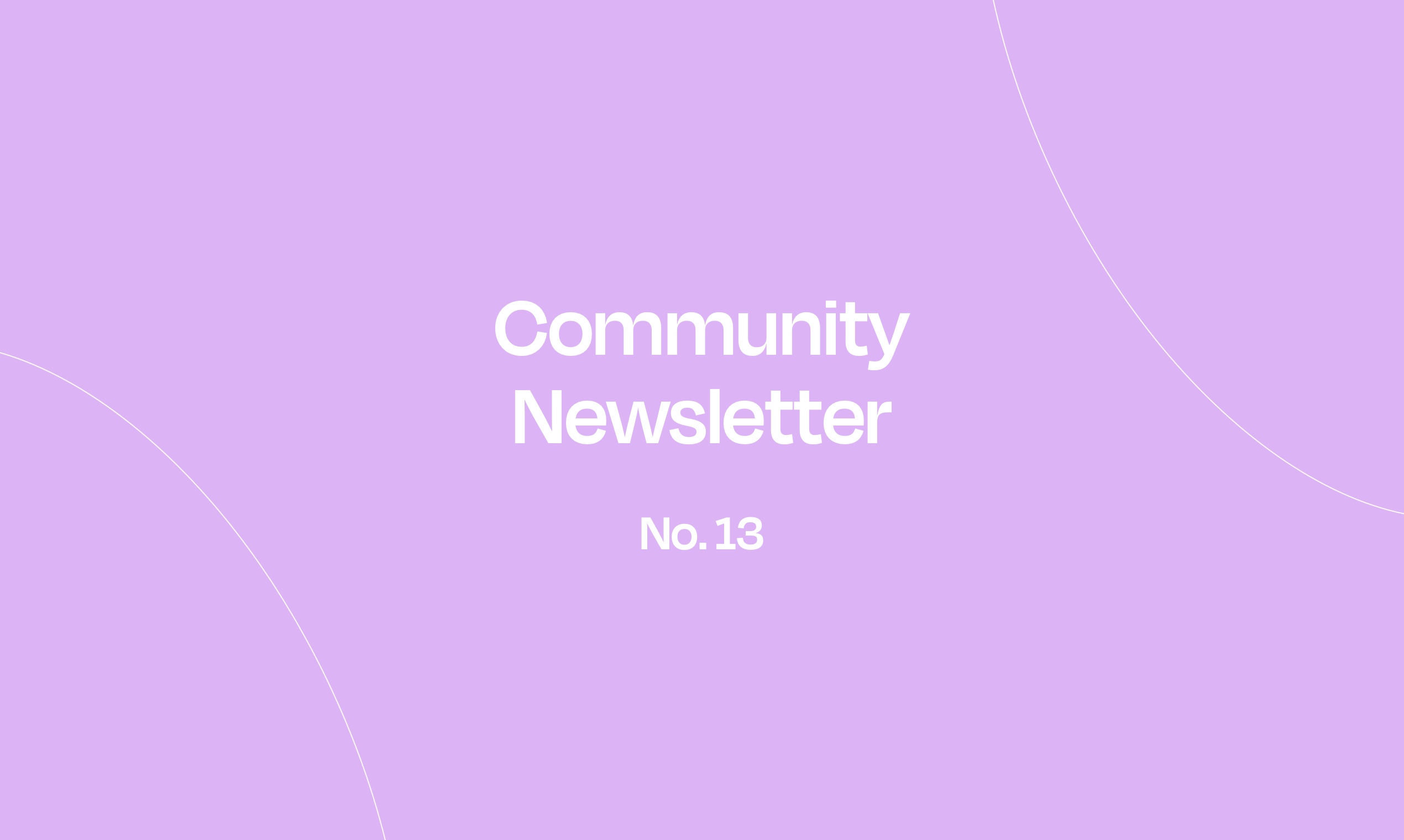 Norby Community Newsletter – No. 13